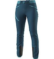 Dynafit TLT Touring Dynastretch - pantaloni scialpinismo - donna, Dark Blue/Dark Grey