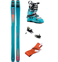 buy popular 4e596 1a4cb Set scialpinismo Tour W: sci+attacchi+pelli+scarponi