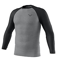 Dynafit Tour Light Merino Longsleeve - maglia tecnica a maniche lunghe - uomo, Black/Grey