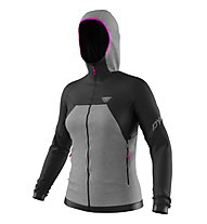 Dynafit Tour Wool Thermal - Kapuzenjacke - Damen, Grey/Black/Pink
