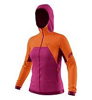 Dynafit Tour Wool Thermal - Kapuzenjacke - Damen, Pink/Orange
