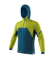 Dynafit Tour Wool Thermal - giacca con cappuccio - uomo, Dark Blue/Green