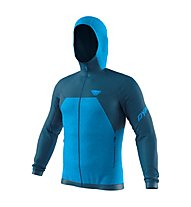 Dynafit Tour Wool Thermal - giacca con cappuccio - uomo, Light Blue/Dark Blue