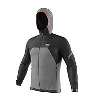 Dynafit Tour Wool Thermal - giacca con cappuccio - uomo, Grey/Black