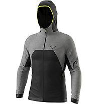 Dynafit Tour Wool Thermal - giacca con cappuccio - uomo, Black/Grey