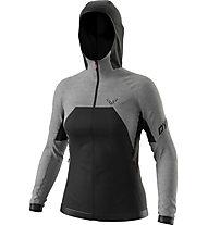 Dynafit Tour Wool Thermal - Kapuzenjacke - Damen, Black/Grey