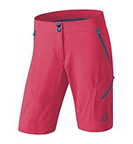 Dynafit Transalper 2 Dst - pantaloni trekking corti - donna, Red