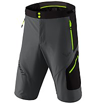 Dynafit Transalper 3 DST - pantaloni corti speed hiking - uomo, Dark Grey/Green