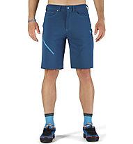 Dynafit Transalper Dst Jeans - pantaloni corti trail running - uomo, Blue/Light Blue