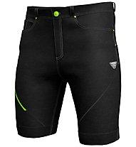 Dynafit Transalper Dst Jeans - pantaloni corti trail running - uomo, Black/Grey