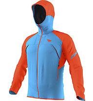Dynafit Transalper GORE-TEX - giacca in GORE-TEX - uomo, Light Blue/Orange