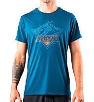 Dynafit Transalper Graphic - T-shirt - uomo, Blue