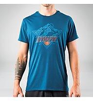 Dynafit Transalper Graphic - T-Shirt Wandern - Herren, Blue