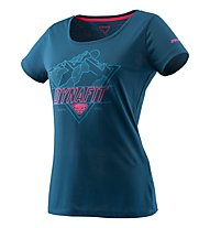 Dynafit Transalper Graphic - T-Shirt Bergsport - Damen, Blue