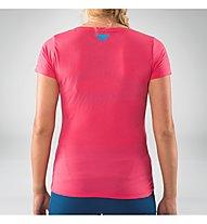 Dynafit Transalper Graphic - T-Shirt Bergsport - Damen, Red