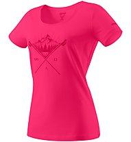 Dynafit Transalper Graphic - T-shirt trekking - donna, Pink