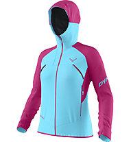 Dynafit Transalper GTX W Jkt - giacca ibrida - donna, Blue/Pink