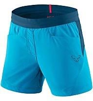 Dynafit Transalper Hybrid - pantaloni corti speed hiking - donna, Blue