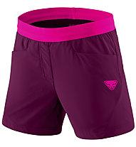 Dynafit Transalper Hybrid - kurze Speed Hiking-Hose - Damen, Violet/Pink