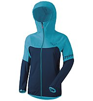 Dynafit Transalper Light 3L - giacca hardshell - donna, Light Blue/Dark Blue