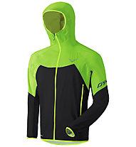 Dynafit Transalper Light 3L - giacca hardshell con cappuccio - uomo, Green/Black