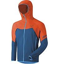 Dynafit Transalper Light 3L - giacca hardshell con cappuccio - uomo, Blue/Orange