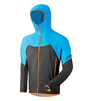 Dynafit Transalper Light 3L - giacca hardshell con cappuccio - uomo, Black/Blue