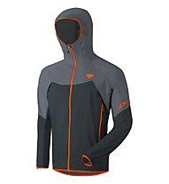 Dynafit Transalper Light 3L - giacca hardshell con cappuccio - uomo, Black/Grey