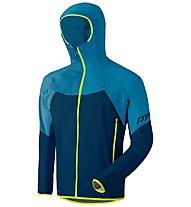 Dynafit Transalper Light 3L - giacca hardshell con cappuccio - uomo, Blue/Light Blue