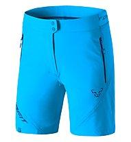 Dynafit Transalper Light DST - pantaloni corti trail running - donna, Light Blue