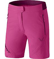 Dynafit Transalper Light DST - pantaloni corti trail running - donna, Pink/Dark Pink