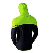 Dynafit Transalper Light Dst - Bergsportjacke mit Kapuze - Herren, Black/Lime