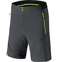 Dynafit Transalper Light DST - pantaloni corti trail running - uomo, Dark Grey/Green