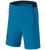 Dynafit Transalper Light DST - pantaloni corti trail running - uomo, Blue/Dark Blue