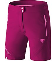 Dynafit Transalper Light DST - pantaloni corti trail running - donna, Pink