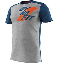 Dynafit Transalper Light - T-Shirt Bergsport - Herren, Light Grey/Blue/Orange