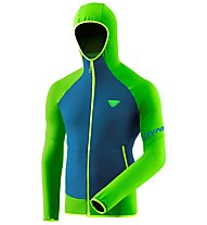 Dynafit Transalper Light Ptc - Fleecejacke mit Kapuze - Herren, Green/Blue