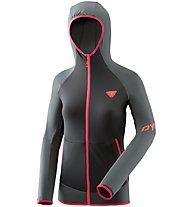 Dynafit Transalper Light Polartec - giacca in pile con cappuccio - donna, Black