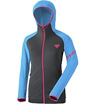 Dynafit Transalper Thermal - giacca in pile con cappuccio - donna, Black/Blue