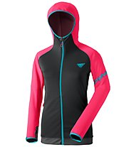 Dynafit Transalper Thermal - giacca in pile con cappuccio - donna, Dark Grey/Pink