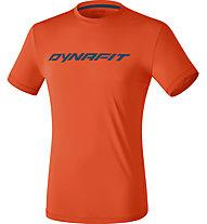 Dynafit Traverse 2 M - T-shirt trail running - uomo, Dark Orange/Blue