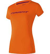 Dynafit Traverse 2 - Trailrunningshirt - Damen, Dark Orange/Violet