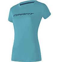 Dynafit Traverse 2 - Trailrunningshirt - Damen, Light Blue/Blue