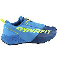Dynafit Ultra 100 - Trailrunningschuh - Herren, Light Blue/Blue/Green