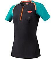 Dynafit Ultra S-Tech - Kurzarm-Shirt Trailrunning - Damen, Black