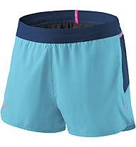 Dynafit Vert - Trailrunninghose - Damen, Light Blue/Blue/Pink