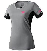 Dynafit Vertical 2 - T-shirt trail running - donna, Grey/Black/Pink