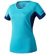 Dynafit Vertical 2 - T-shirt trail running - donna, Light Blue/Blue