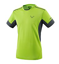 Dynafit Vertical 2 - T-Shirt Trailrunning - Herren, Green/Dark Grey