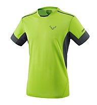 Dynafit Vertical 2 - T-shirt trail running - uomo, Green/Dark Grey